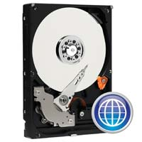 "WD Blue 250GB 7,200 RPM SATA 6.0Gb/s 3.5"" Internal Hard Drive WD2500AAKX - Bare Drive"