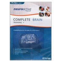 Brain Center America Neuroactive Program - Complete Brain Training (PC / MAC)
