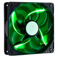 Cooler Master SickleFlow 120mm Green LED Case Fan