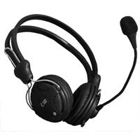 Case Logic HD-104 On Ear Slim Stereo Headset -  Black