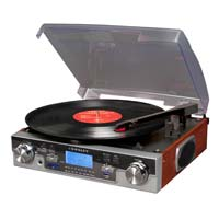 Crosley Tech Turntable - Mahogany