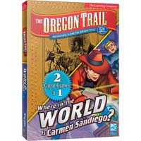 Encore Software Oregon Trail and Carmen Sandiego (PC)