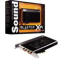 Creative Labs Sound Blaster X-Fi Titanium HD PCIe Sound Card