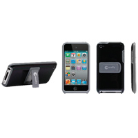 MacAlly Snap On Case w/ Stand for iPod Touch 4