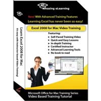 Amazing eLearning Excel 2008 for MAC - Video Training (Mac)