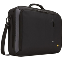 "Case Logic Notebook Briefcase Fits LCD Screens up to 18.4"" Black"