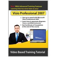 Amazing eLearning Microsoft Visio Pro 2007 - Video Training (PC)