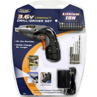 Chicago Power Tools 3.6V Lithium-Ion Compact Drill/Driver