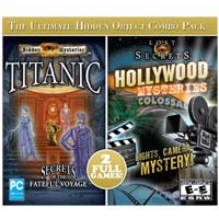 Encore Software Titanic and Hollywood Mysteries Combo JC (PC)