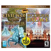 Encore Software Hidden Mysteries: Civil War Secrets Of The North and South & Buckingham Palace Combo Pack JC (PC / MAC)