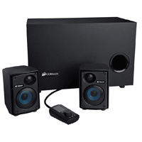Corsair SP2500 Gaming Audio Series High-Power 2.1 Speaker System