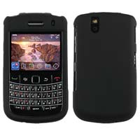 Qmadix Snap-On Cover for BlackBerry Bold 9650 - Black