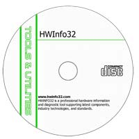MCTS HWinfo32 v3.65 - Shareware/Freeware CD (PC)