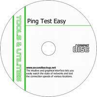 MCTS Ping Test Easy v4.32 - Shareware/Freeware CD (PC)