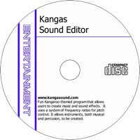 MCTS Kangas Sound Editor v3.0 - Shareware/Freeware CD (PC)