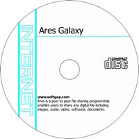 MCTS Ares Galaxy v2.1.7 - Shareware/Freeware CD (PC)