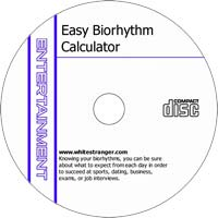 MCTS Free and Easy Biorhythm Calculator 3.02 Freeware/Shareware CD