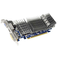 ASUS NVIDIA GeForce 210 1024MB GDDR3 PCIe 2.0 x16 Low Profile Video Card