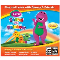 Nova Development Barney - The Secret of the Rainbow JC (PC / MAC)