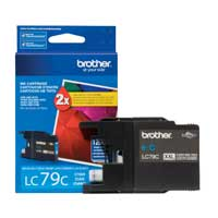 Brother LC79C Super High Yield Cyan Ink Cartridge