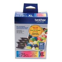 Brother LC753PKS High Yield Inkjet Cartridges 3-Pack