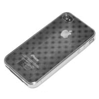 Bytech TPU Case for iPhone 4 Plaid Clear