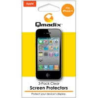 Qmadix Clear Screen Protector 3 Pack