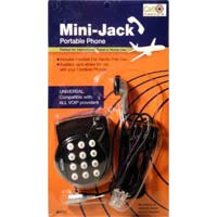 Call Capture Mini-Jack Portable Phone