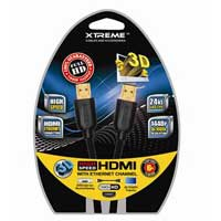 Xtreme Cables 6Ft High Speed HDMI Cable with Ethernet