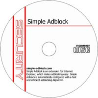 MCTS Simple Adblock 0.8.6 - Shareware/Freeware CD (PC)