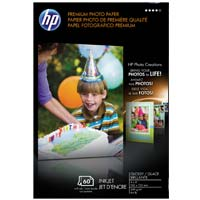 "HP Premium Plus Photo Paper Glossy 4"" x 6"" 60 Sheets"