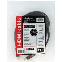 Inland 12ft. HDMI to HDMI Cable
