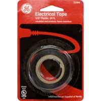 "Plastic Electrical Tape 3/4"" x 20' Black"