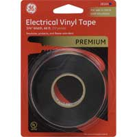 "PVC Hot/Cold Electrical Tape 3/4"" x 66' Black"