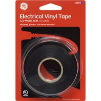 "American Heritage PVC Electrical Tape 3/4"" x 66' Black"