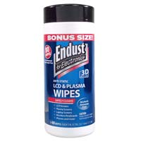 Endust LCD/Plasma Wipes 80 Pack