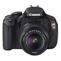 Canon EOS Rebel T3i 18 Megapixel DSLR Camera Kit with 18-55IS II EF-S Lens - Black