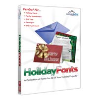 SummitSoft Holiday Fonts (PC)