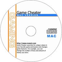 MCTS Game Cheater 1.1.200 - Freeware/Shareware CD (Mac)