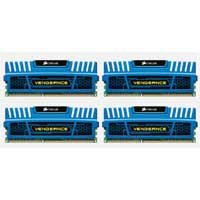 Corsair Vengeance Series 16GB DDR3-1600 (PC3-12800) CL9 Dual Channel Desktop Memory Kit (Four 4GB Memory Modules)