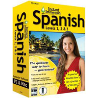 TOPICS Entertainment Instant Immersion Spanish Levels 1, 2 & 3 Version 2 (PC/Mac)