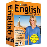 TOPICS Entertainment Instant Immersion English: Levels 1, 2 & 3 Version 2