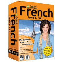 TOPICS Entertainment Instant Immersion French: Levels 1, 2 & 3 Version 2