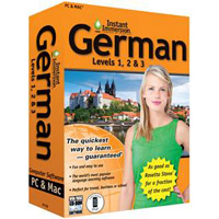 TOPICS Entertainment Instant Immersion German: Levels 1, 2 & 3 Version 2 (PC/Mac)