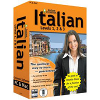 TOPICS Entertainment Instant Immersion Italian: Levels 1, 2 & 3 Version 2 (PC/Mac)