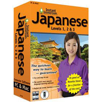TOPICS Entertainment Instant Immersion Japanese: Levels 1, 2 & 3 Version 2 (PC/Mac)