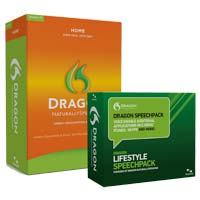 Nuance Dragon Lifestyle Speechpack (PC)