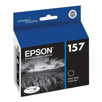 Epson T157120 Photo Black Ink Cartridge
