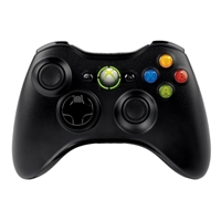 Microsoft Black Xbox 360 Wireless Controller for Windows