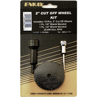"Enkay Products 12 Piece 2"" Cut Off Wheel Kit"